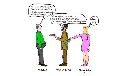 The Intention to Cover Up Side Effects and Delude the Public in Psychiatric Drug Marketing